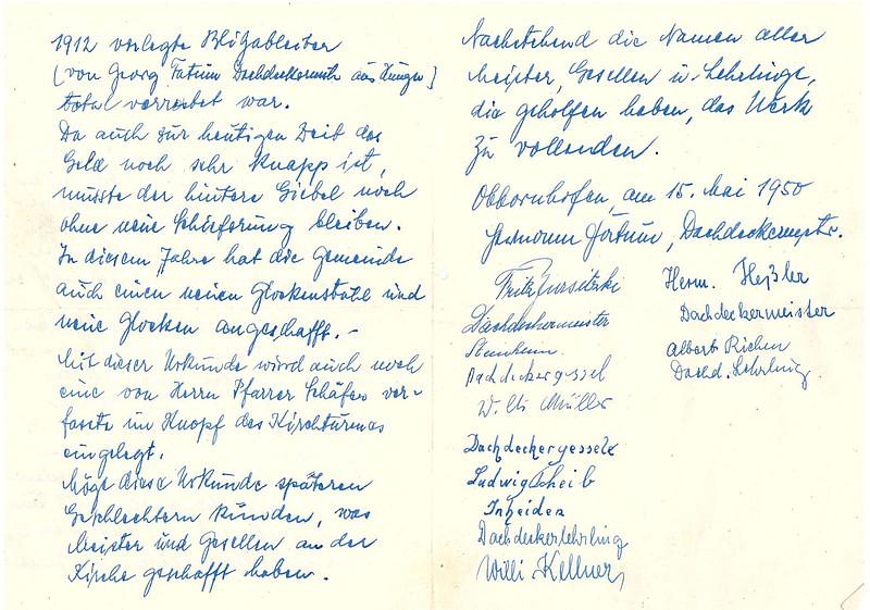 Kirchenrenovierung Obbornhofen - Evangelische Kirchengemeinde ...